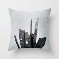 Pathfinder - Experimental Throw Pillow