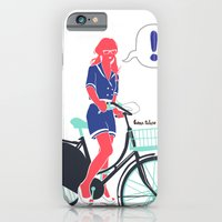 iPhone & iPod Case featuring LE COOL GAL by Mexican Zebra