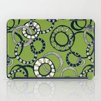 Honolulu hoopla green iPad Case