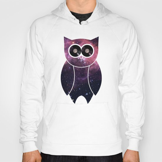 Owl Night Long Hoody