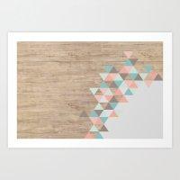 wood Art Prints featuring Archiwoo by Marta Li