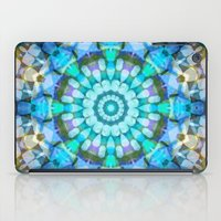 Into The Blue Kaleidosco… iPad Case