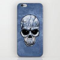 Skull Gaze iPhone & iPod Skin
