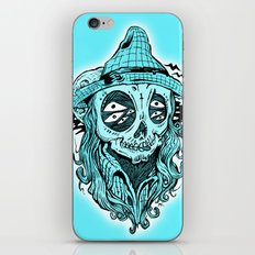 scared crow iPhone & iPod Skin