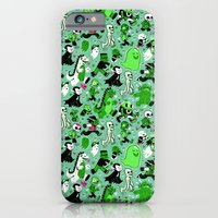 Monster March (Green) iPhone 6 Slim Case