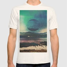 Fluid Moon Mens Fitted Tee Natural SMALL