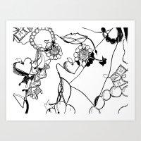 Jewelry Box Art Print