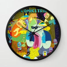 SALCHIPAPA Wall Clock