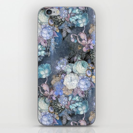 Vintage Blue Jeans Bouquet iPhone & iPod Skin