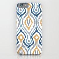 Sketchy Ikat - Saddle iPhone 6 Slim Case