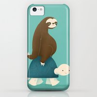 iPhone 5c Cases featuring Slow Ride by Jay Fleck