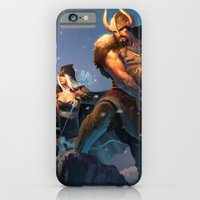League of Legends-Tryndamere and Ashe iPhone 6 Slim Case