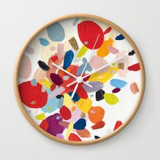 Color Study No. 2 Wall Clock