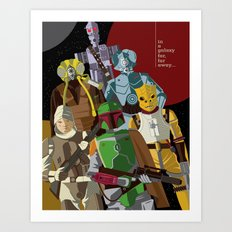 Bounty Hunters Art Print