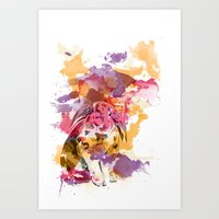 Silly Alice. Art Print