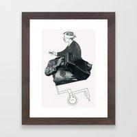 The One They Call Mushro… Framed Art Print
