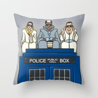 Party on, Who? Throw Pillow