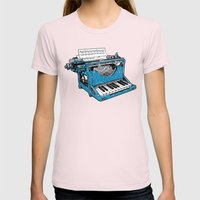 The Composition - Origin… Womens Fitted Tee Light Pink SMALL