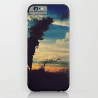 iPhone & iPod Case featuring Southside Chicago Factory by mjdesignphoto