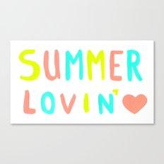 Summer Lovin' Canvas Print