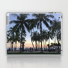 Sunset on Waikiki Laptop & iPad Skin