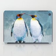 Penguin Love iPad Case