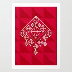 Himmeli Art Print