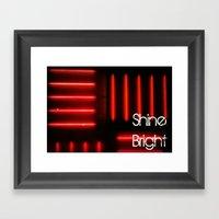 Shine Bright Framed Art Print