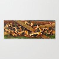 Rattlesnake Canvas Print