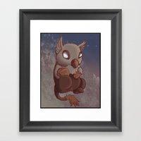 Griffin Nugget Framed Art Print
