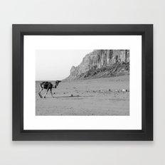 A solo Journey Framed Art Print