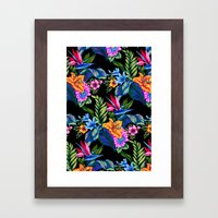 Jungle Vibe Framed Art Print
