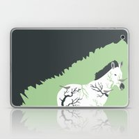Zebra In The Woods Laptop & iPad Skin