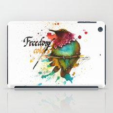 Freedom of colors iPad Case