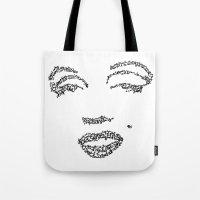 Marilyn Monroe WordsPort… Tote Bag