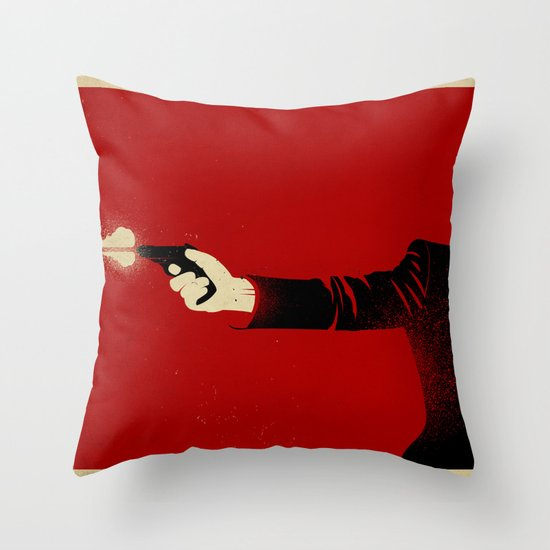 The Double Agent Throw Pillow