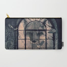 Carry-All Pouch - FOX AND BIRDS - dada22