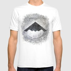 Fallen Angles Mens Fitted Tee SMALL White
