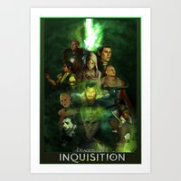 The Inquisition Art Print