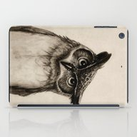 iPad Case featuring Owl Sketch by Isaiah K. Stephens
