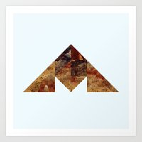 COAL MOUNTAIN Art Print