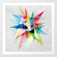 Colorful 2 X Art Print
