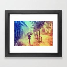 It Will Rain Framed Art Print