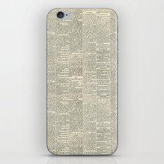 Newsie iPhone & iPod Skin