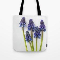 Muscari - Blue Grape - JUSTART © Tote Bag