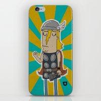 004_thor iPhone & iPod Skin