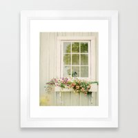 WINDOW PERFECT  Framed Art Print