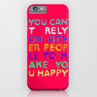 RELY / ABSOLUTELY HAPPY VERSION iPhone 6 Slim Case