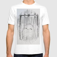 Nymph Mens Fitted Tee White SMALL