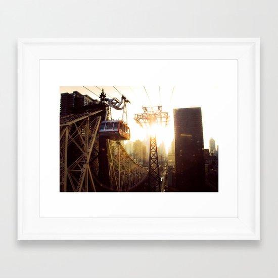 Hook, Line & Sinker Framed Art Print